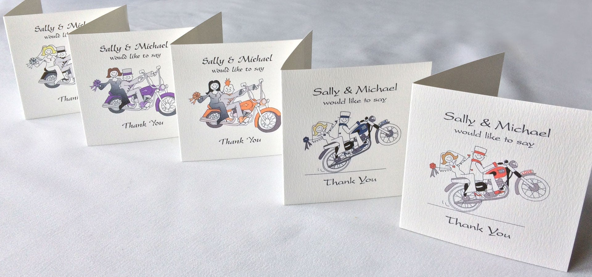 Thank you cards cool wedding stationery thank you cards altavistaventures Image collections